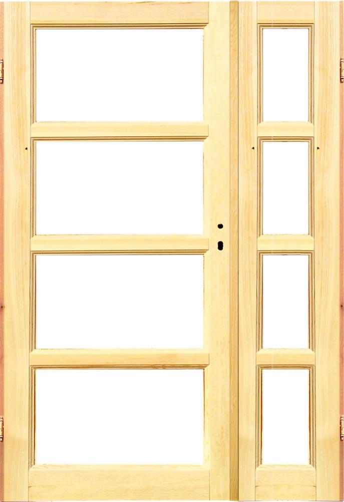 Rewelacyjny Manhattan4 M4d4dn surowe drzwi dwuskrzydłowe LI55
