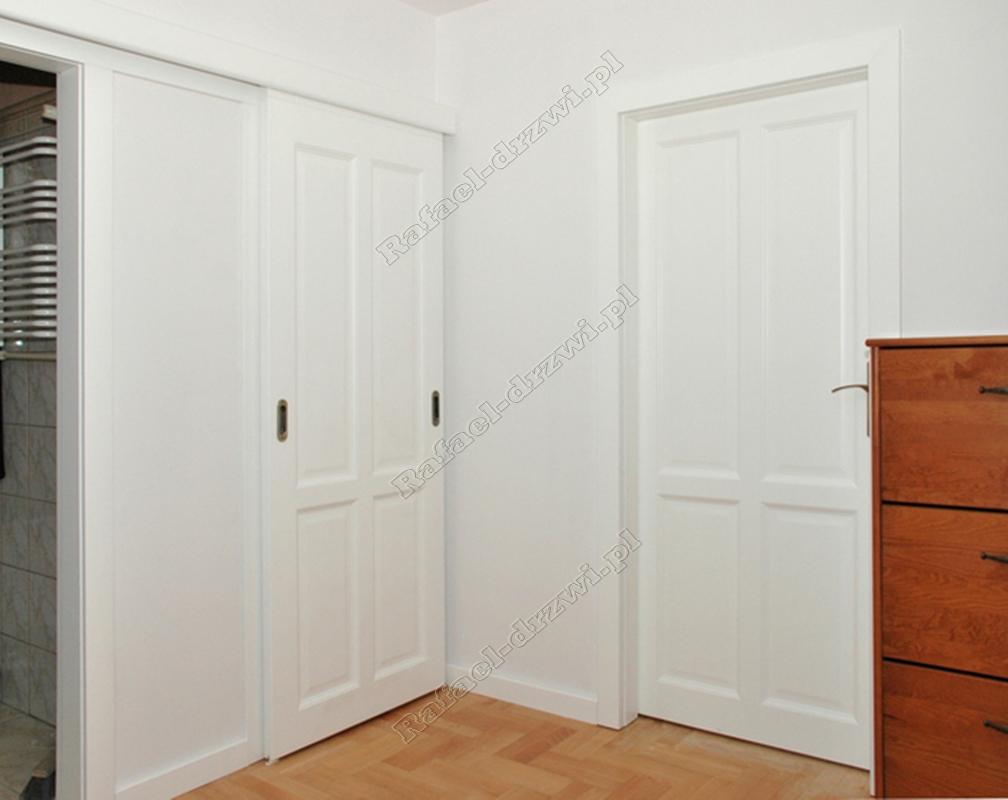 Drzwi Lakierowane Kolorem Bialym Kryjacym